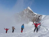 die Gipfel des Monte-Rosa