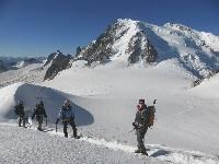 Gletscherwandern und Gletschertouren im Mont-Blanc Gebiet