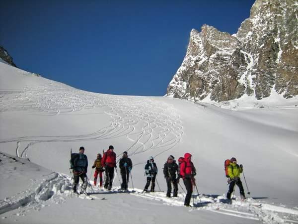 Klettersteig Chamonix : Skitourwoche haute route von chamonix nach zermatt
