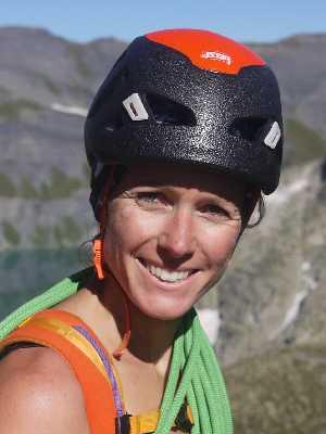Sophie Moritz - Bergführerin Alta-Via